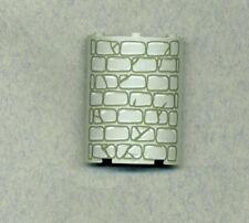 Lego-- 30562px1 - 4 x 4 x 6 - Ecke Rund - Grau/OldGray Mit Steine -Viertelkreis