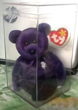 "TY Princess Diana Fundraiser Bear Beanie Babies 8"" Tall Mint Condition!"