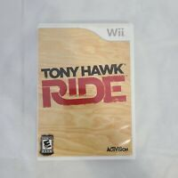 Tony Hawk Ride Nintendo Wii 2009 E 10+-Everyone 10+ Complete Tested/Working