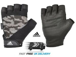 Mens Adidas GYM Gloves XXL Climacool Training CrossFit Weight Lifting CAMO