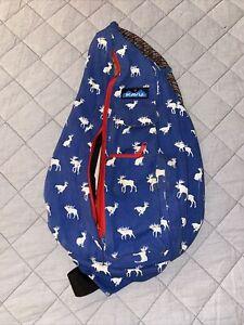 Kavu Rope Bag Retired RACK N ROLL MOOSE