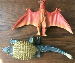 GODZILLA action figure set ANGILAS anguirus RODAN monster vs mothra king kong