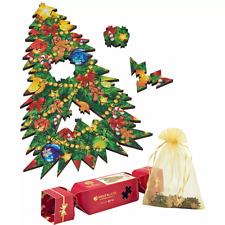 Christmas Tree Wooden Jigsaw Puzzle Miniature Wentworth 30 Piece Festive Fir