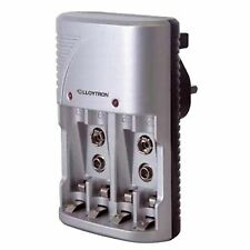 LLOYTRON COMPACT PLUG-IN BATTERY CHARGER - CHARGE AA / AAA & 9V SIZES