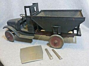 Buddy L #202 Coal Truck...No Rust Original Condition w/ Restoration Parts