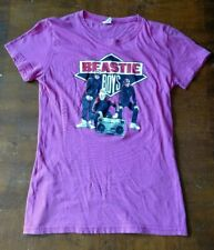 Beastie Boys Hip Hop Rap Band Pink Shirt Size Small S