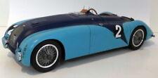Véhicules miniatures en résine pour Bugatti 1:18