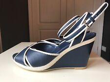 Geox Ladies Women Designer Women High Heel Wedge Sandal Shoe Platform Size 5.5