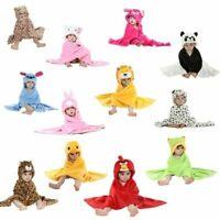 Designs Hooded Animal Model Cloak Baby Bathrobe Baby Towel Bath Robe Bath Towel