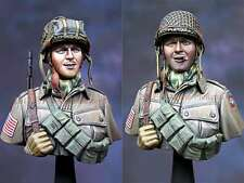 1/16th Scale 82nd Airborne 1944 Bust, Alpine Miniatures, Kit 16035, New in Box,