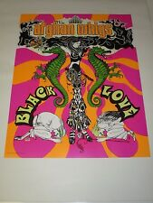 The Afghan Whigs Black Love Poster Rare Promotional Only 22 X 17 New