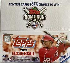 2021 Topps Series 1 Baseball Trading Cards(24 Packs)