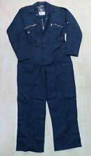 DICKIES WD4839 COVERALL BOILER SUIT 44 R XL NAVY BLUE HEAVY DUTY OVERALL