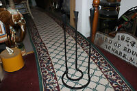 Interesting Gothic Medieval Floor Standing Candelabra-Iron Steel-Holds 3 Candles
