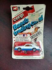 1982 CORGI #404 FORD MUSTANG CLEVELAND INDIANS BASEBALL TRADING CAR