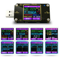 USB Type C LCD Power Meter Tester Digital Multimeter Voltmeter Ammeter Detector