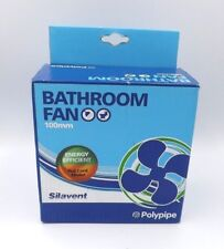 POLYPIPE GLA100-PCR SILAVENT 100MM BATHROOM FAN PULL CORD MODEL FREE POSTAGE