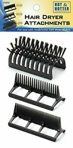 Vidal Sassoon Professional Hairdryer Styling Tools Brush Fine/Broad Tooth VS-640