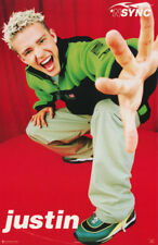 Poster :Music :N Sync - Justin Timberlake - Posing - Free Ship ! #7525 Rc53 R