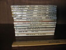 Galaxy Science Fiction Novels #1 - 6 and 8 - 14    (13 softcover books,  AC)