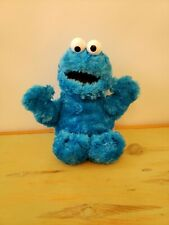Sesame Street Cookie Monster Gund Plush 2008 Stuffed Animal Bean Bag - 13""
