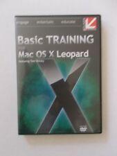 + Basic Training For Mac Os X Leopard [Dvd-Rom] Brand New [Oz Seller]