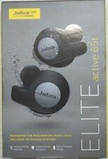 Jabra Elite Active 65t True Wireless Earbud Headphones, Titanium Black