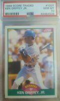 Ken Griffey Jr RC PSA 10 1989 Score Traded Seattle Mariners
