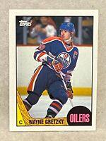1987-88 Topps 53 Wayne Gretzky Edmonton Oilers