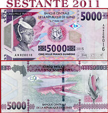 GUINEA  -  5000 5.000 FRANCS 2015  - P 48  -  FDS / UNC