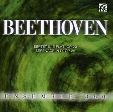 Ensemble 360, Ludwig van Beethoven - Septet & Serenade [New CD]
