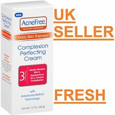 AcneFree Daily Skin Therapy Step 3 Complexion Perfecting Cream Retinol Acne
