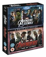 MARVEL: THE AVENGERS Assemble & Age of Ultron [Blu-ray Box Set] 1 + 2 Collection