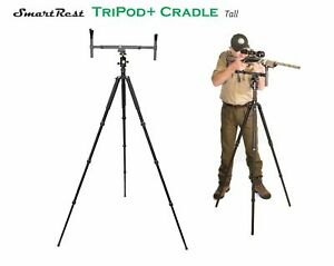 Tripod - Alloy tripod Tall + Ball Head + Gun Cradle Rest - SmartRest very sturdy