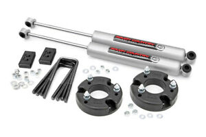 Rough Country Ford F150 2in Leveling Lift Kit w/ Shocks 2009-2020 4WD/2WD