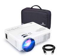 VANKYO Leisure 3 Upgraded Version 2400 Lux LED Portable Projector - White