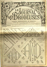 Le Journal des Brodeuses n°838 - 1965 - Ecussons pour Draps enfants -