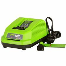 Greenworks 29482 G-MAX Series 40V Lithium-Ion Charger Green Works New