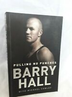 Pulling No Punches by Barry Hall - SIGNED Copy - AFL