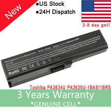 Battery for Toshiba Satellite C655-S5056 C655-S5053 P755-S5215 A665-S6095 Laptop