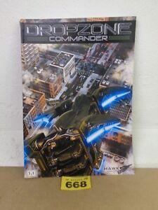 Hawk Wargames Dropzone Commander Rules Rulebook Soft Cover 668
