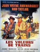 Plakat Kino Western Les Räuber Zug John Wayne Ann-Margret 120 X 160 CM