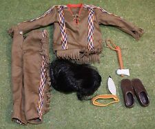 VINTAGE ACTION MAN 40th LOOSE INDIAN OUTFIT AS PICTURED