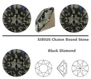 Genuine SWAROVSKI 1088 XIRIUS Chaton Round Stones Crystals * Many Colors & Sizes