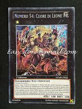 NUMERO 54: CUORE DI LEONE - NUMH-IT026 ITA YU-GI-OH - YUGI - YGO