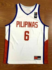 Jordan Clarkson 6 Philippines Team Basketball Jerseys Sublimation Custom Name