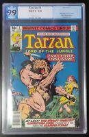 Tarzan #1 Marvel Comics 1977 PGX 9.9 White Pages