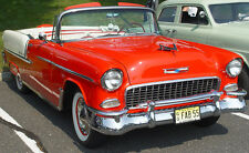 NEW IN BOX 1955 -1957 Chevrolet BelAir Convertible Top w Plastic Window - WHITE