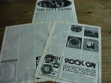 THE LEFT BANKE - MAGAZINE CUTTING (ARTICLE) (REF X6 )