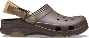Crocs 206340 CLASSIC ALL-TERRAIN Mens Sporty Outdoor Clogs Espresso
